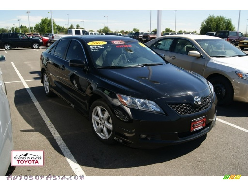 2007 Toyota Camry SE in Black - 697052 | Autos of Asia - Japanese and Korean Cars for sale in the US