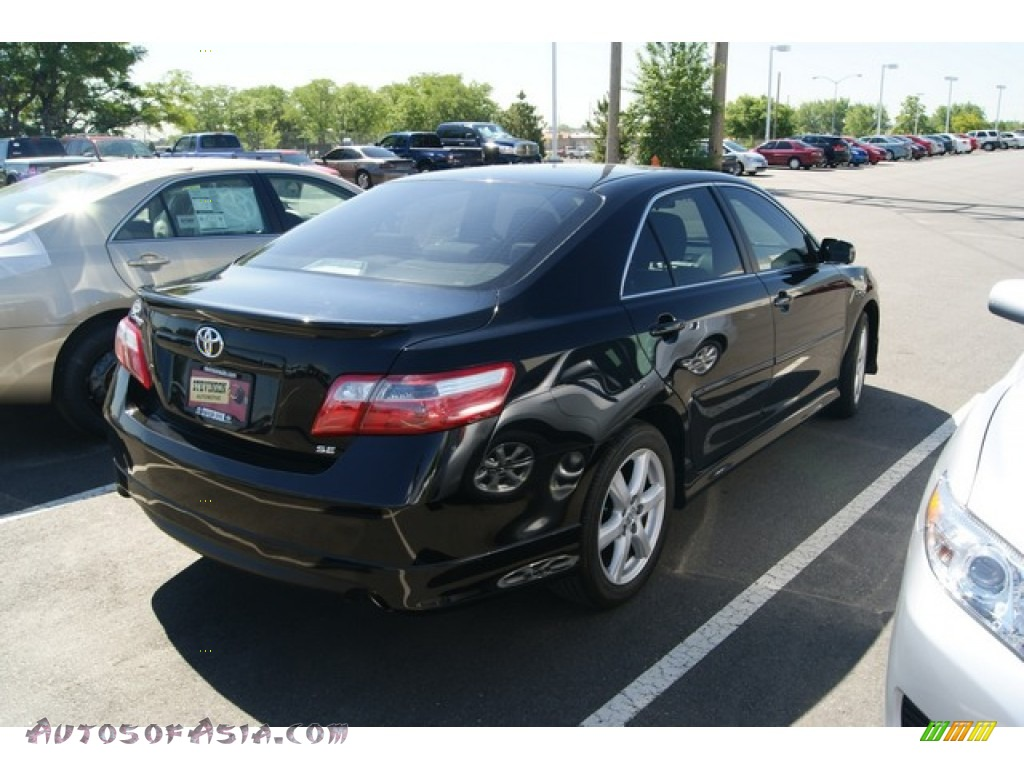 2007 toyota camry se in black photo 2 697052 autos of asia japanese and korean cars for. Black Bedroom Furniture Sets. Home Design Ideas