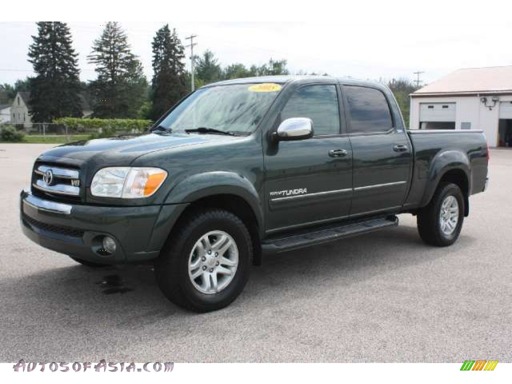 2005 toyota tundra sr5 double cab 4x4 in timberland green mica 496940 autos of asia. Black Bedroom Furniture Sets. Home Design Ideas
