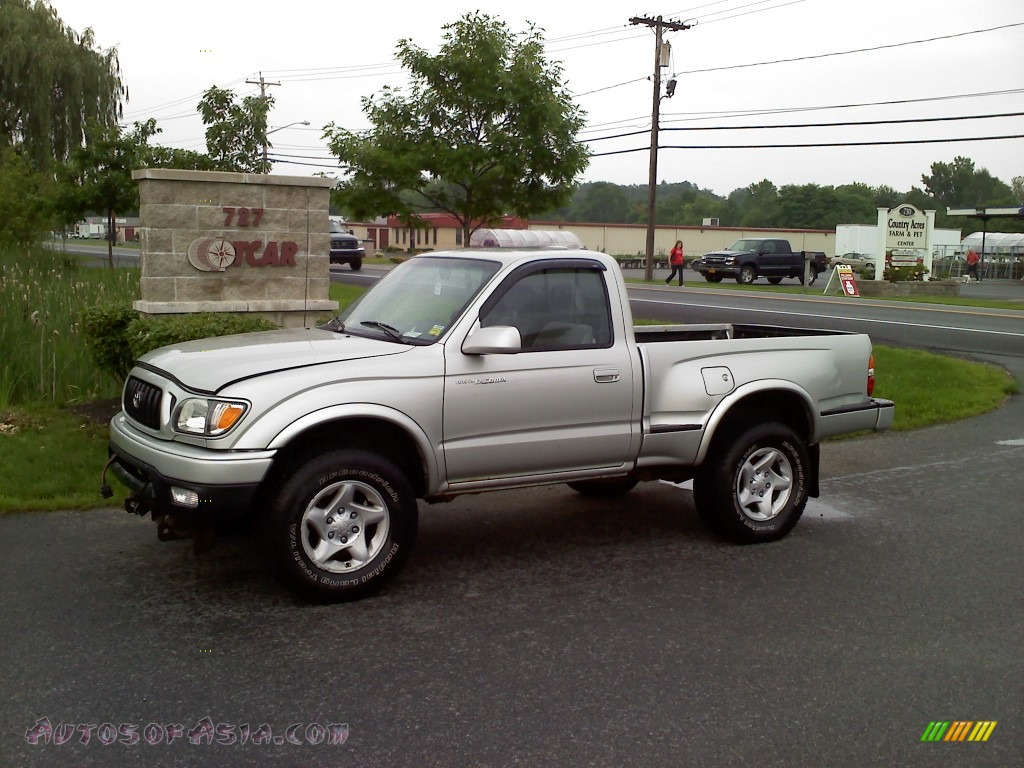 2001 toyota tacoma regular cab 4x4 in lunar mist silver metallic 751525 autos of asia. Black Bedroom Furniture Sets. Home Design Ideas
