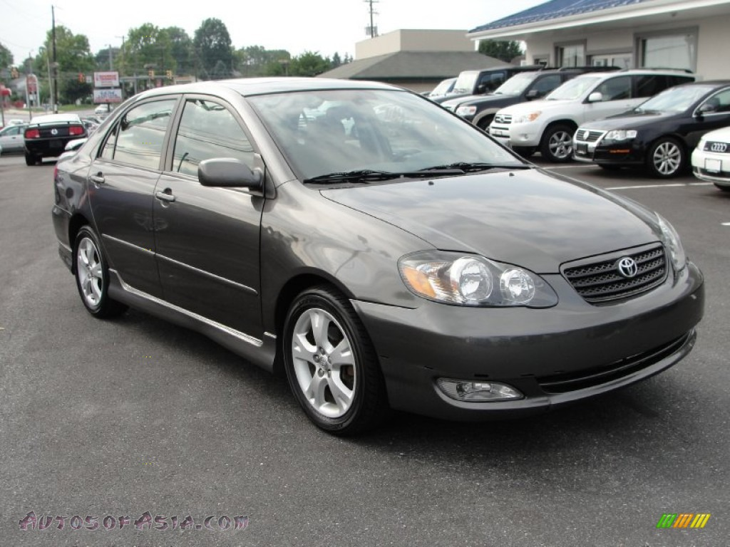 2005 toyota corolla xrs in phantom gray pearl 370184 autos of asia japanese and korean. Black Bedroom Furniture Sets. Home Design Ideas