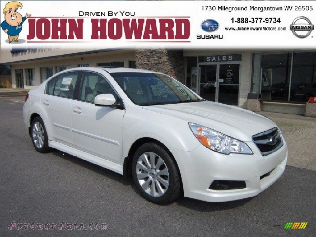 2011 subaru legacy 3 6r limited in satin white pearl photo 12 256731 autos of asia. Black Bedroom Furniture Sets. Home Design Ideas