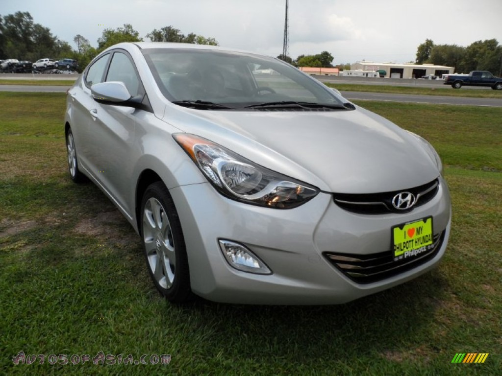 2012 hyundai elantra limited in shimmering silver 187010. Black Bedroom Furniture Sets. Home Design Ideas