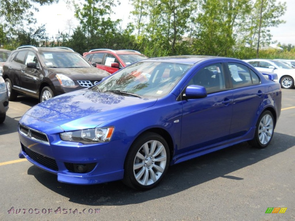 2008 mitsubishi lancer gts in electric blue pearl 022265 autos of asia japanese and korean. Black Bedroom Furniture Sets. Home Design Ideas