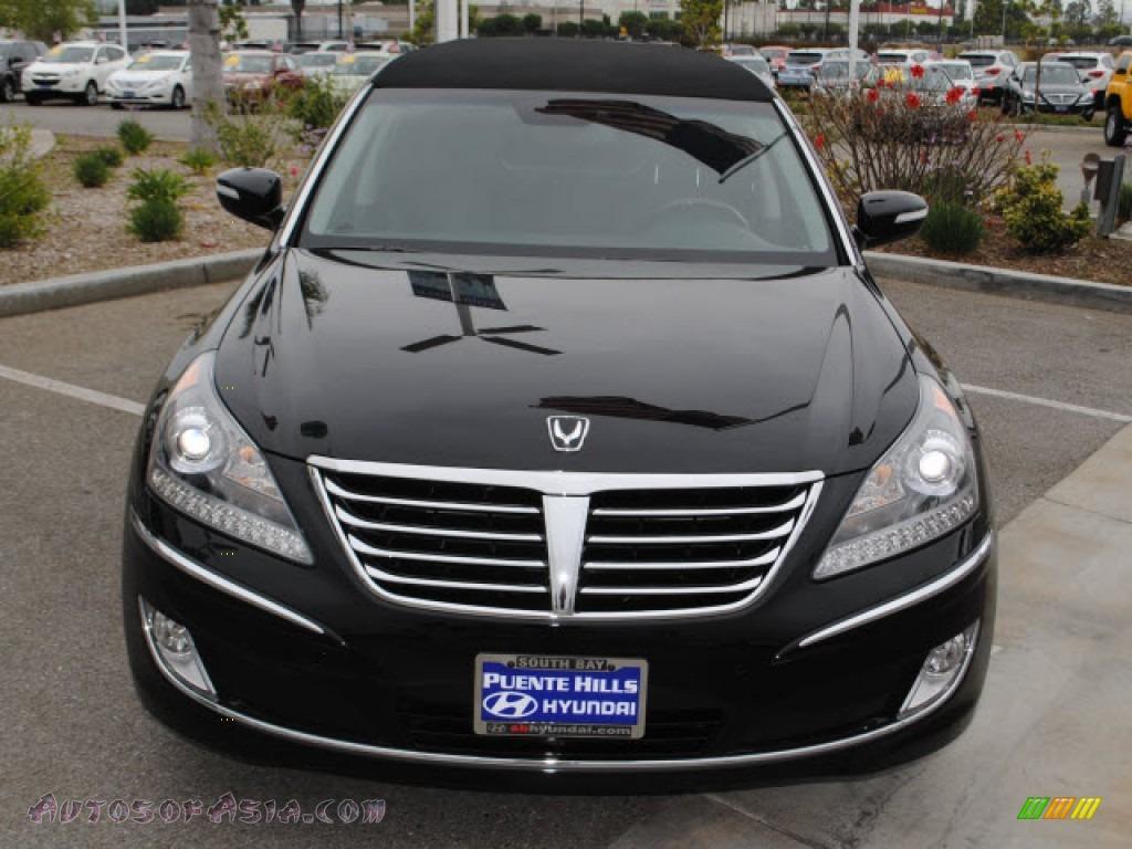 2011 hyundai equus signature limousine in black noir pearl photo 2 034694 autos of asia. Black Bedroom Furniture Sets. Home Design Ideas
