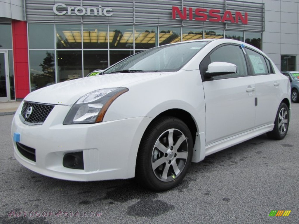 2012 nissan sentra 2 0 sr special edition in aspen white 613707 autos of asia japanese and. Black Bedroom Furniture Sets. Home Design Ideas