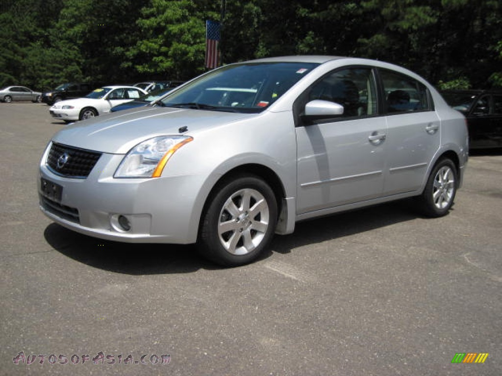 2008 nissan sentra 2 0 sl in brilliant silver 708516. Black Bedroom Furniture Sets. Home Design Ideas