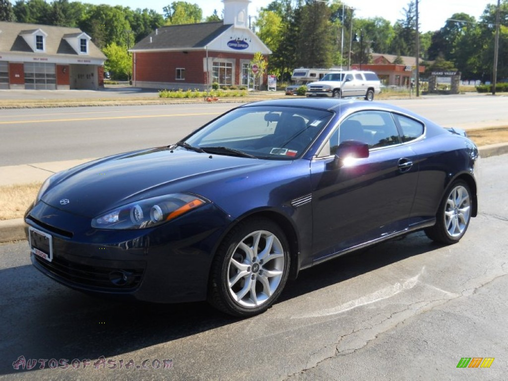 2008 Hyundai Tiburon GT in Regatta Blue - 278357 | Autos ...