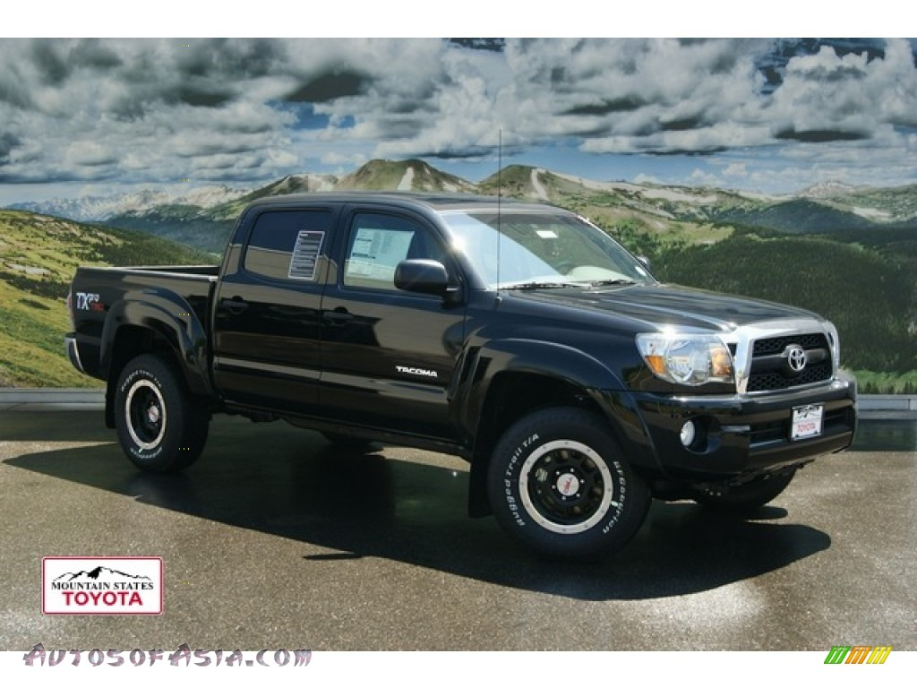 2011 toyota tacoma tx double cab 4x4 in black 075409 autos of asia japanese and korean. Black Bedroom Furniture Sets. Home Design Ideas