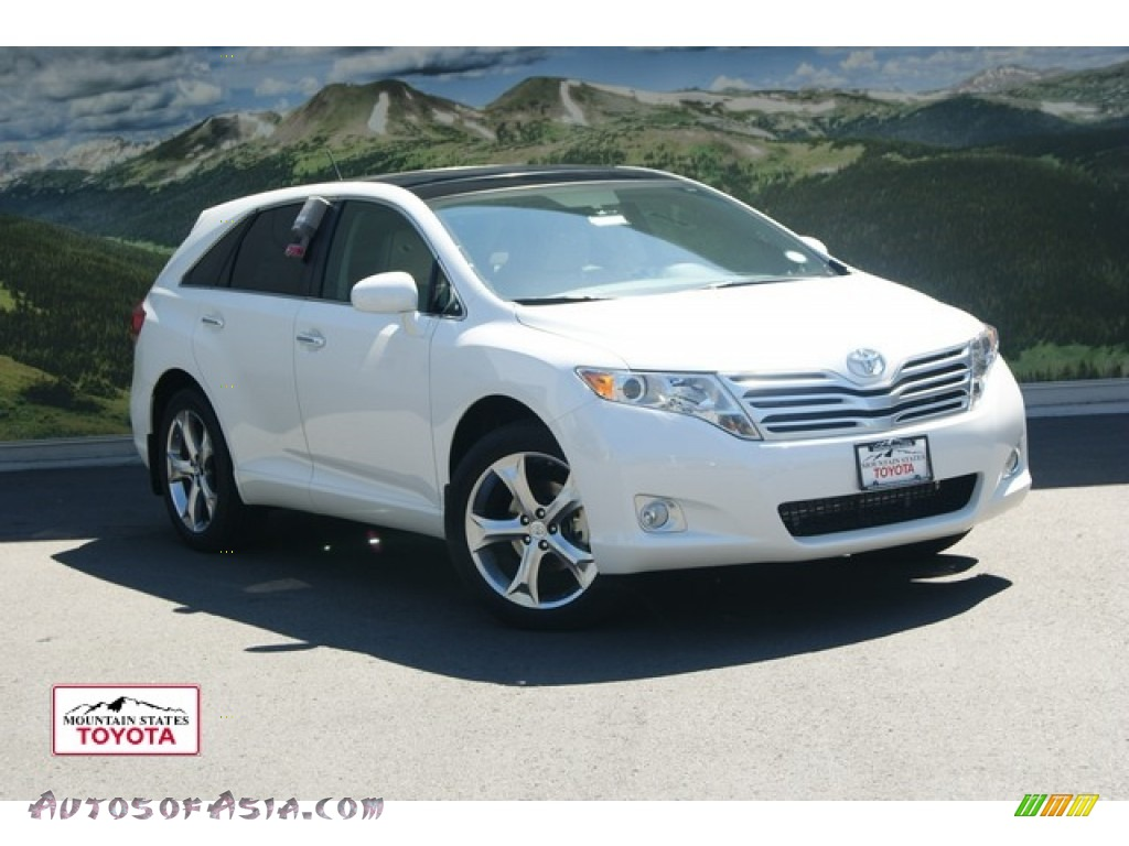 2011 toyota venza v6 awd in blizzard pearl white 056945. Black Bedroom Furniture Sets. Home Design Ideas