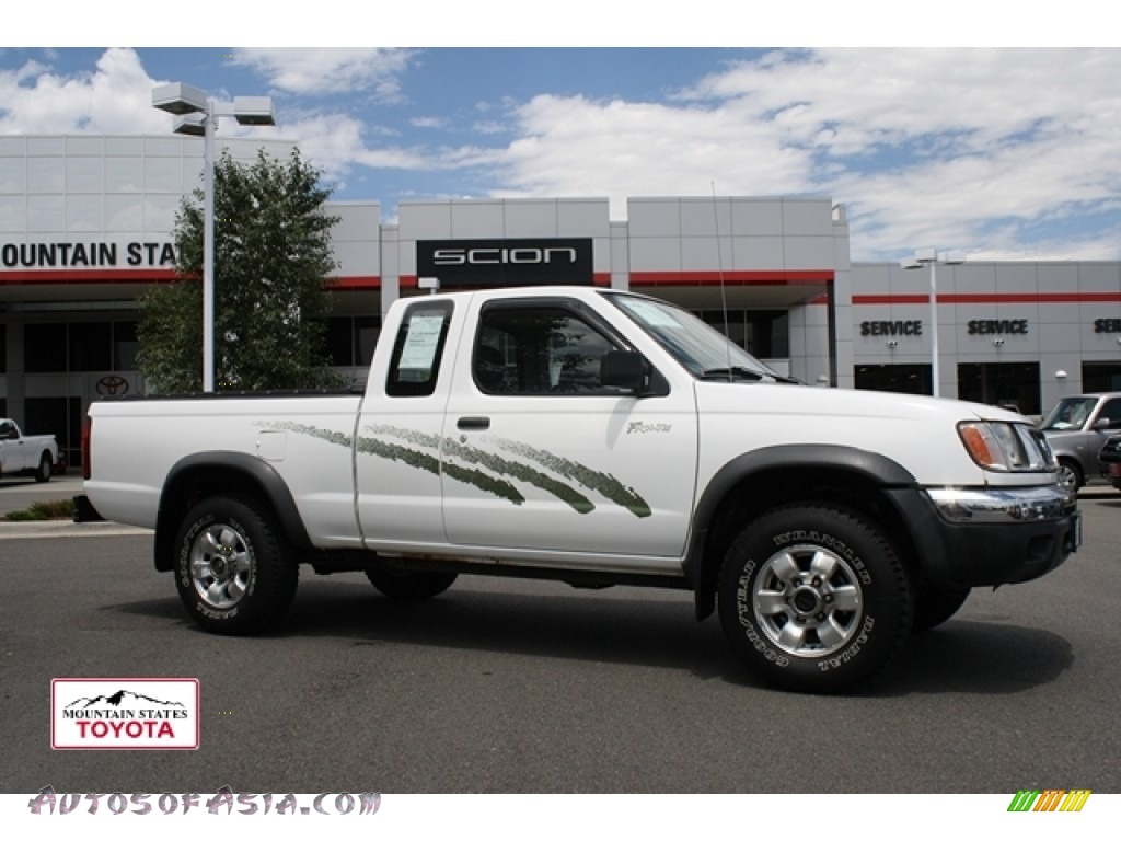 1998 nissan frontier xe extended cab 4x4 in cloud white 390107 autos of asia japanese and. Black Bedroom Furniture Sets. Home Design Ideas