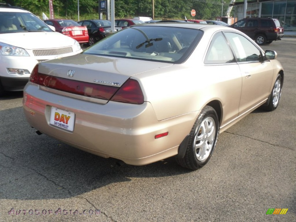 2001 Honda Accord Ex V6 Coupe In Naples Gold Metallic