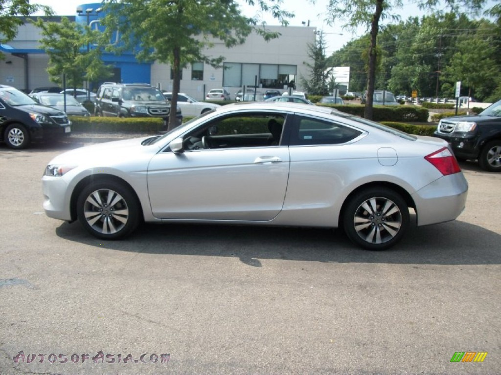2010 Honda Accord EX Coupe in Alabaster Silver Metallic ...
