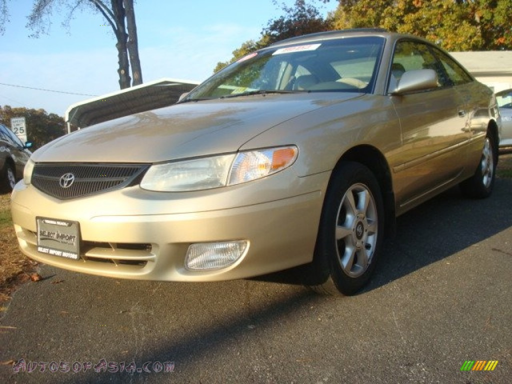 2000 toyota solara sle v6 coupe in gold dust metallic. Black Bedroom Furniture Sets. Home Design Ideas
