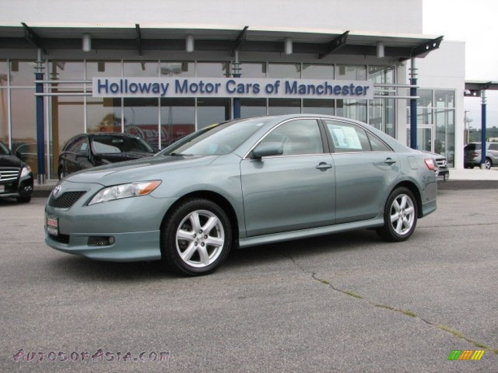 2007 toyota camry se v6 in aloe green metallic 531231 for Holloway motor cars manchester