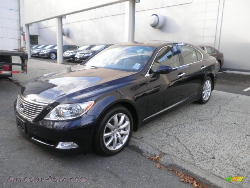 2009 lexus ls 460 awd in black sapphire blue pearl 003961 autos of asia japanese and. Black Bedroom Furniture Sets. Home Design Ideas