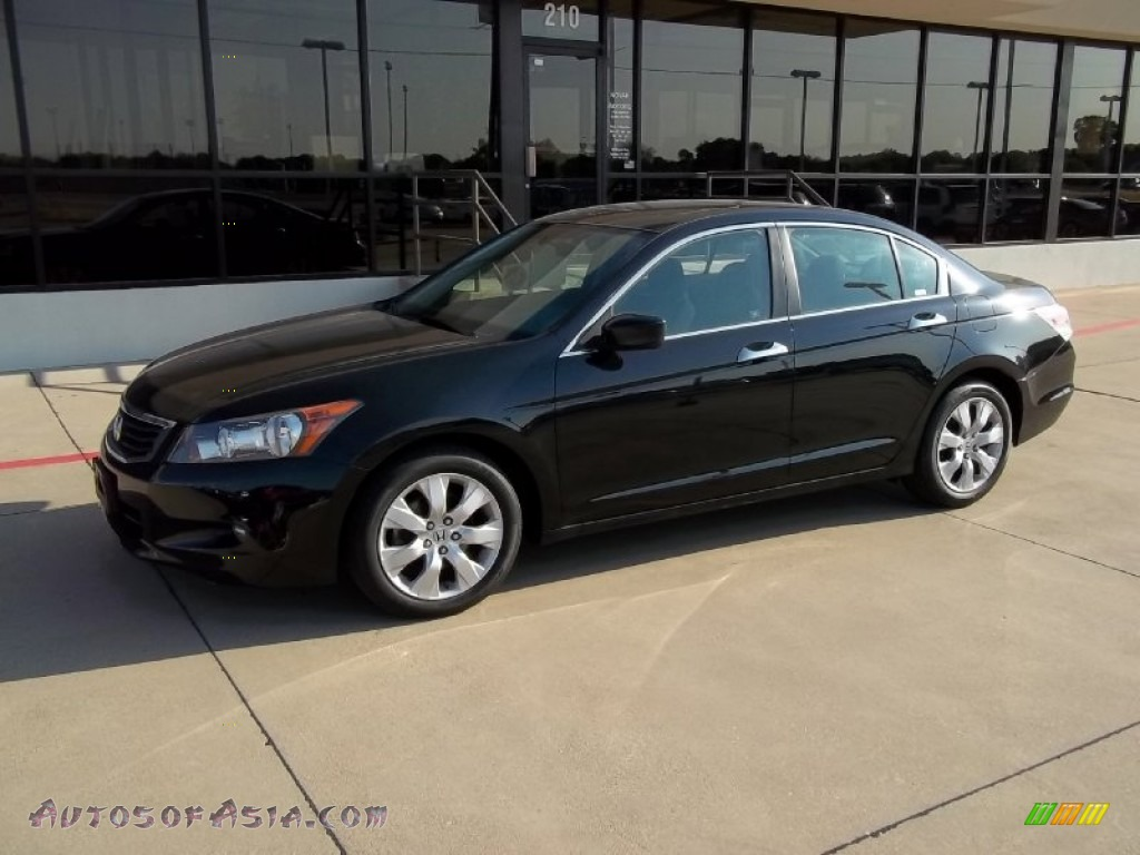 2008 honda accord ex v6 sedan in nighthawk black pearl 033499 autos of asia japanese and. Black Bedroom Furniture Sets. Home Design Ideas