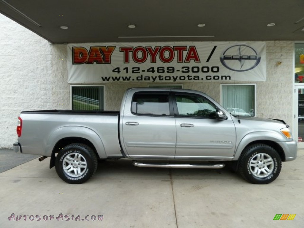 2006 toyota tundra sr5 double cab 4x4 in silver sky metallic 531751 autos of asia japanese. Black Bedroom Furniture Sets. Home Design Ideas