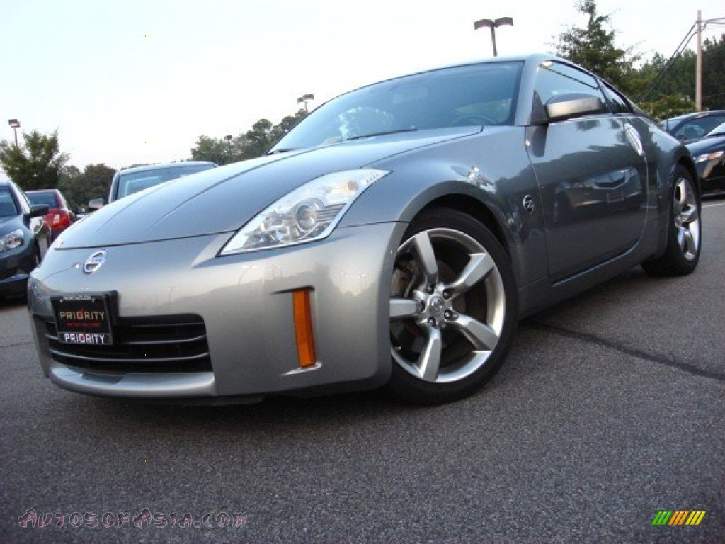 2006 nissan 350z coupe in silverstone metallic 311455. Black Bedroom Furniture Sets. Home Design Ideas
