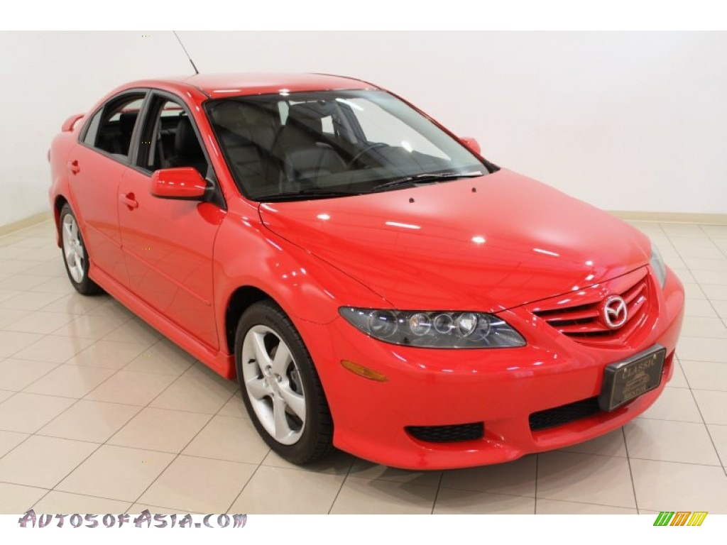 Ron Lewis Cranberry >> 2005 Mazda MAZDA6 i Sport Hatchback in Volcanic Red - M39651 | Autos of Asia - Japanese and ...