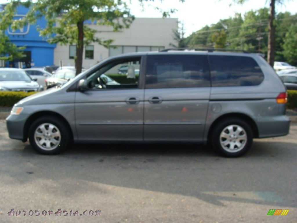 2002 Honda Odyssey Ex L In Granite Green Metallic 509966