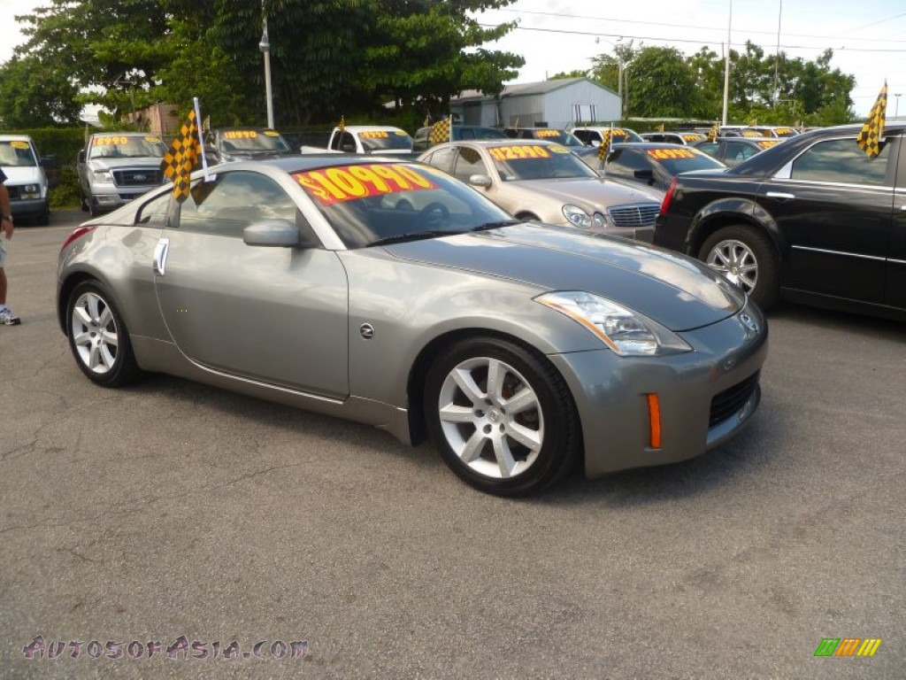 2003 Nissan 350z Touring Coupe In Silverstone Metallic