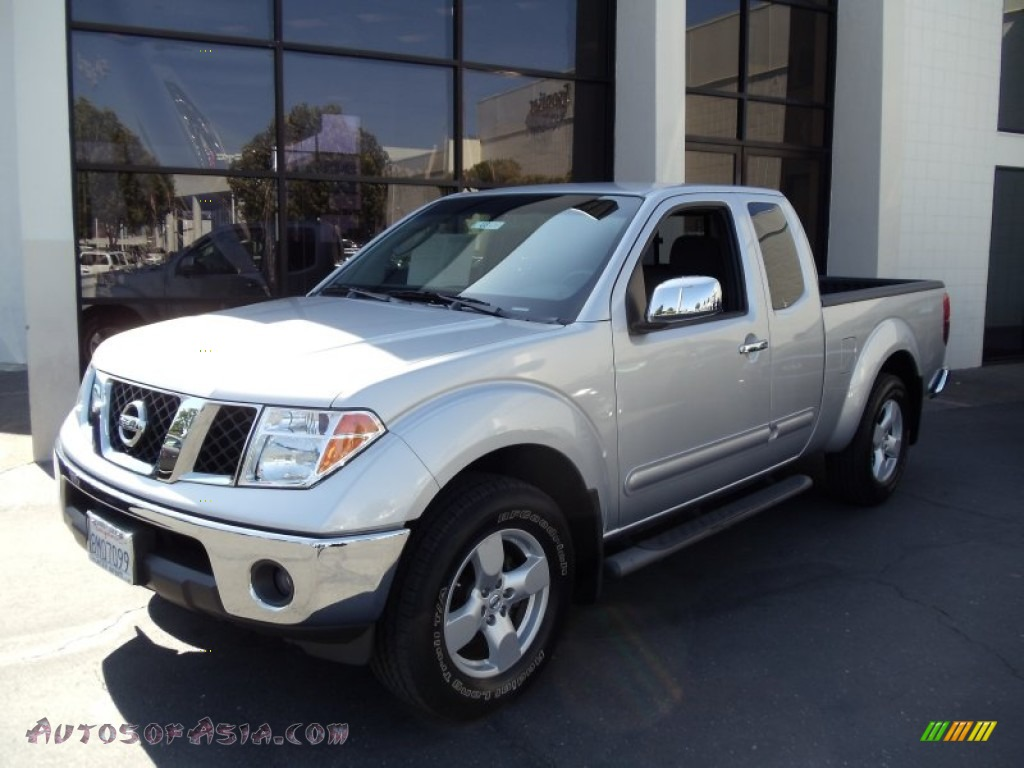 2007 nissan frontier le king cab 4x4 in radiant silver 407267 autos of asia japanese and. Black Bedroom Furniture Sets. Home Design Ideas