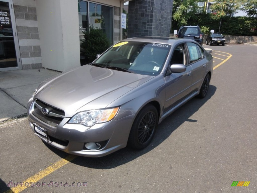 2008 subaru legacy limited sedan in quartz silver. Black Bedroom Furniture Sets. Home Design Ideas