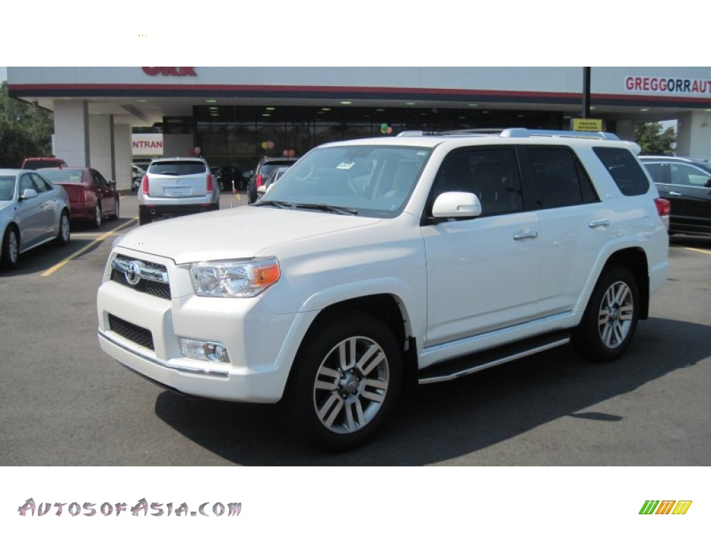 2011 Toyota 4runner Limited 4x4 In Blizzard White Pearl
