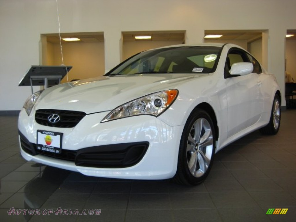 2012 hyundai genesis coupe 2 0t in karussell white 068955 autos of asia japanese and. Black Bedroom Furniture Sets. Home Design Ideas