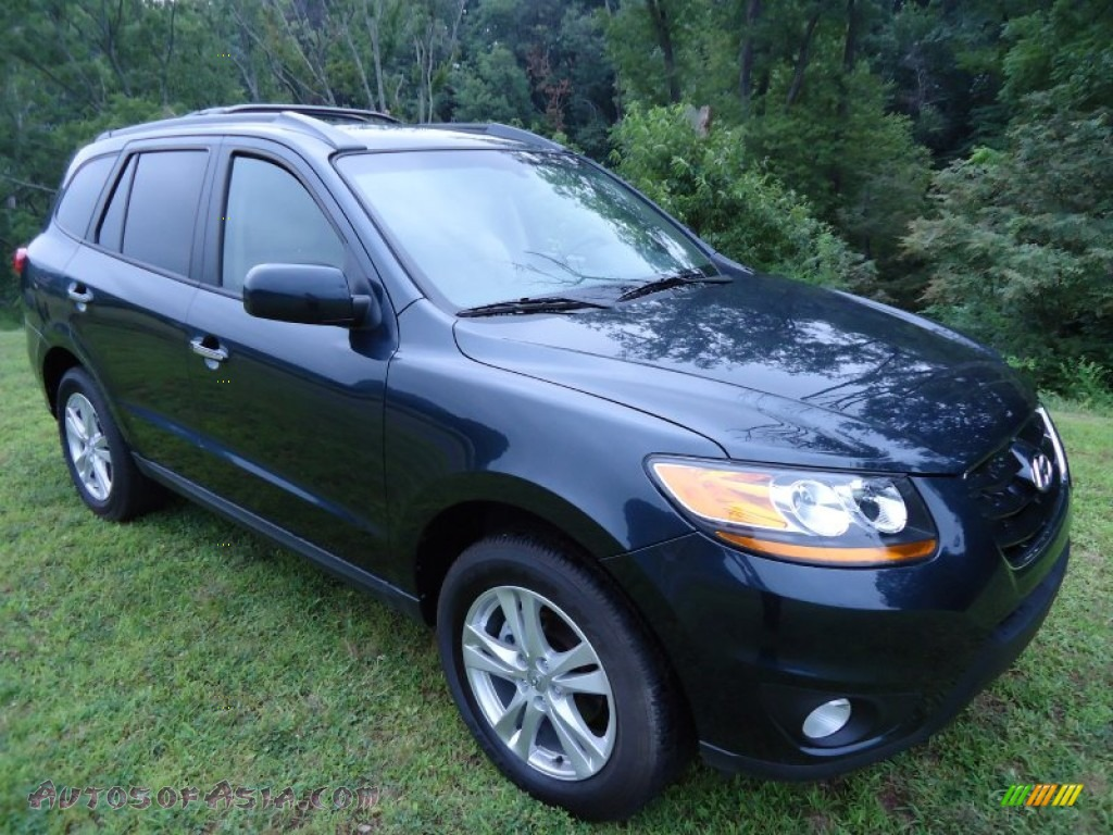 2011 Hyundai Santa Fe Limited Awd In Pacific Blue Pearl 055920 Autos Of Asia Japanese And