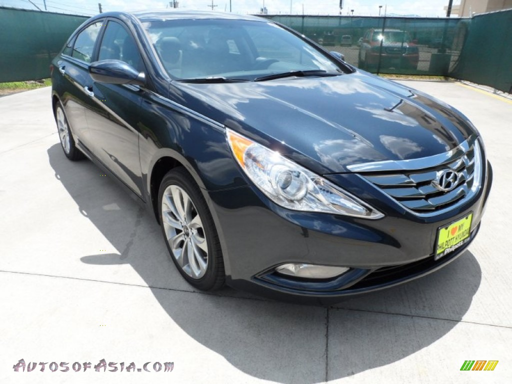 2012 hyundai sonata limited 2 0t in pacific blue pearl 346832 autos of asia japanese and. Black Bedroom Furniture Sets. Home Design Ideas