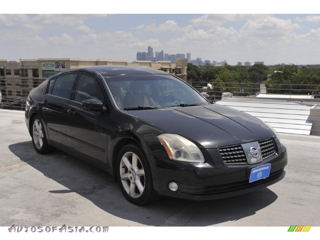 2004 nissan maxima 3 5 se in onyx black 821297 autos. Black Bedroom Furniture Sets. Home Design Ideas