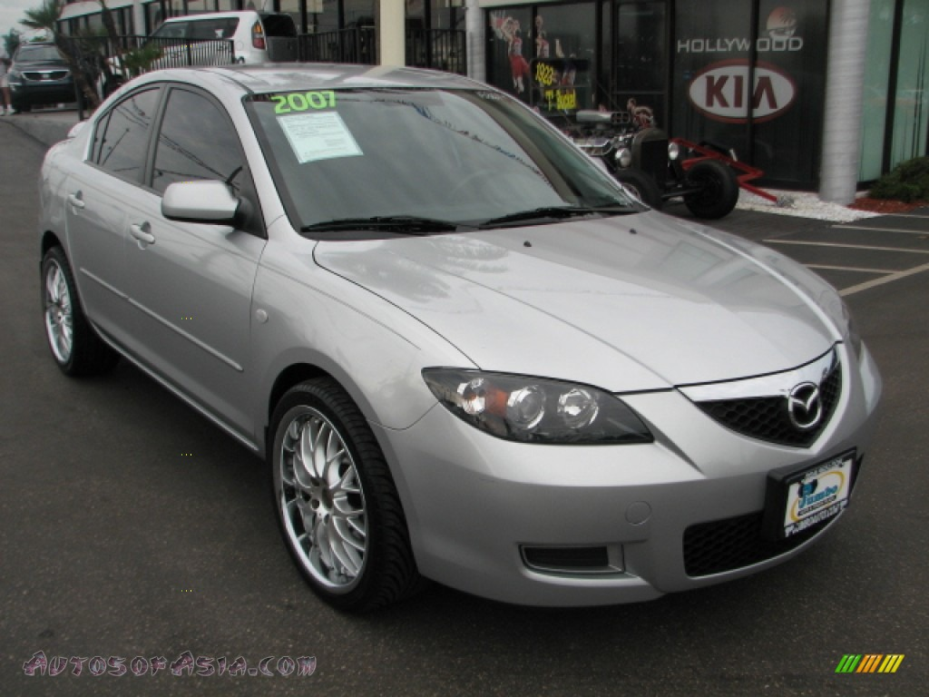 2007 mazda mazda3 i sport sedan in sunlight silver. Black Bedroom Furniture Sets. Home Design Ideas