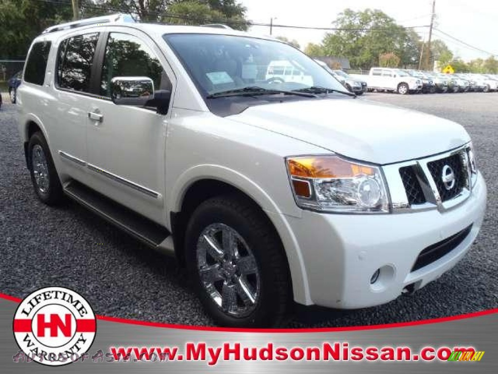 2011 nissan armada platinum in blizzard white 622600 autos of asia japanese and korean. Black Bedroom Furniture Sets. Home Design Ideas