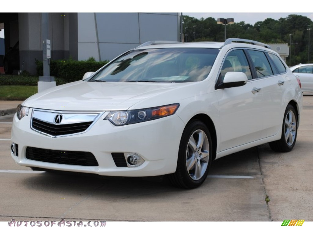2011 acura tsx sport wagon in premium white pearl 002166 autos of asia japanese and korean. Black Bedroom Furniture Sets. Home Design Ideas