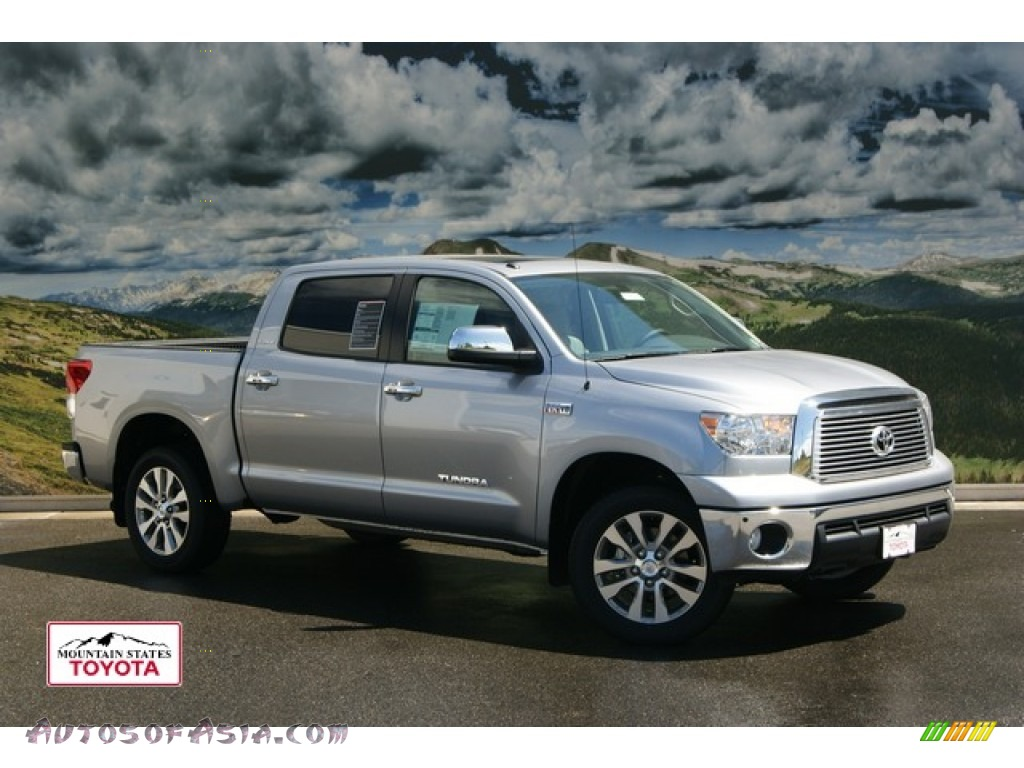 2011 toyota tundra platinum crewmax 4x4 in silver sky metallic 207656 autos of asia. Black Bedroom Furniture Sets. Home Design Ideas