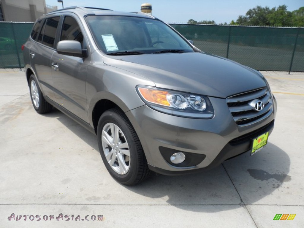 2012 hyundai santa fe limited v6 in mineral gray 096681 autos of asia japanese and korean. Black Bedroom Furniture Sets. Home Design Ideas