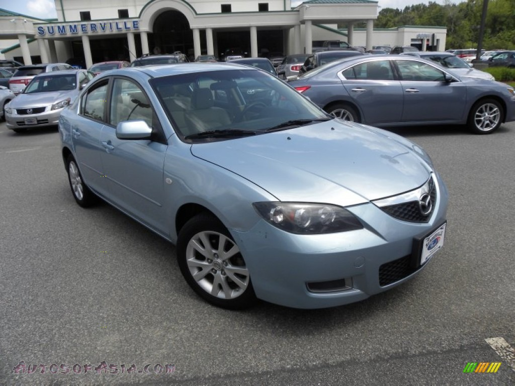 2007 mazda mazda3 i sport sedan in ice blue metallic. Black Bedroom Furniture Sets. Home Design Ideas