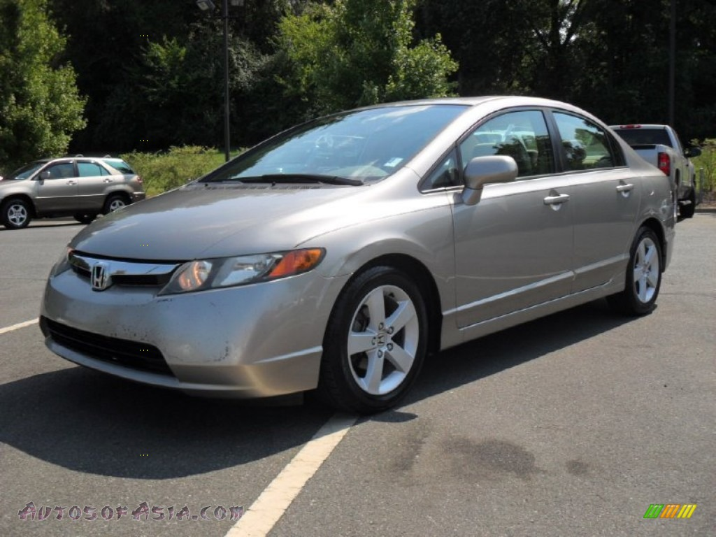 2006 Honda Civic Ex Sedan In Shoreline Mist Metallic