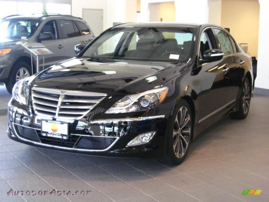 2012 hyundai genesis 5 0 r spec sedan in black noir pearl 162412 autos of asia japanese. Black Bedroom Furniture Sets. Home Design Ideas