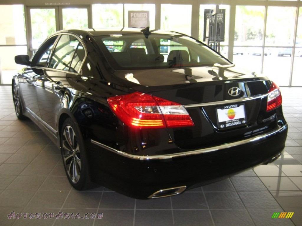 2012 hyundai genesis 5 0 r spec sedan in black noir pearl photo 3 162412 autos of asia. Black Bedroom Furniture Sets. Home Design Ideas