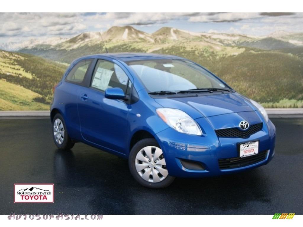 2011 Toyota Yaris 3 Door Liftback in Blazing Blue Pearl ...