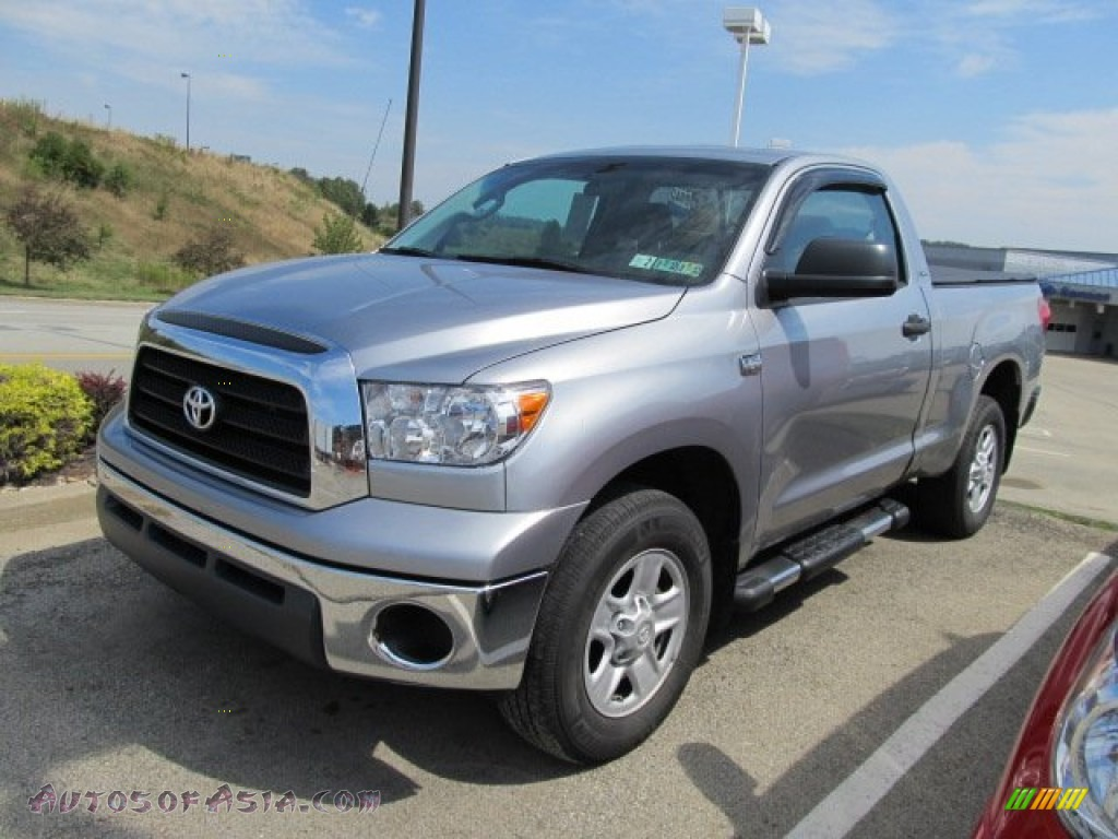 2009 toyota tundra sr5 regular cab 4x4 in silver sky metallic photo 7 002369 autos of asia. Black Bedroom Furniture Sets. Home Design Ideas