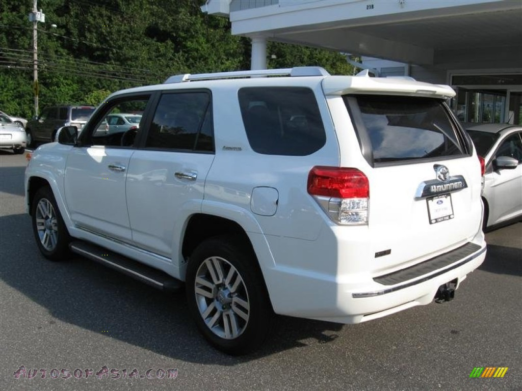 2010 toyota 4runner limited 4x4 in blizzard white pearl photo 7 014610 autos of asia. Black Bedroom Furniture Sets. Home Design Ideas