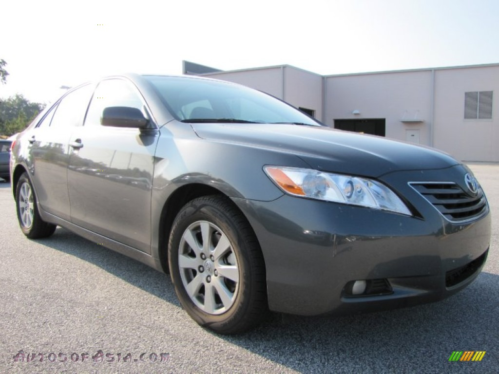 2008 toyota camry xle v6 in magnetic gray metallic 064421 autos of asia japanese and. Black Bedroom Furniture Sets. Home Design Ideas