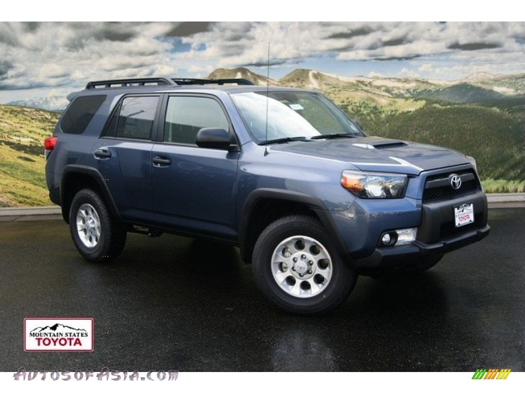 2011 toyota 4runner trail 4x4 in shoreline blue pearl 069665 autos of asia japanese and. Black Bedroom Furniture Sets. Home Design Ideas