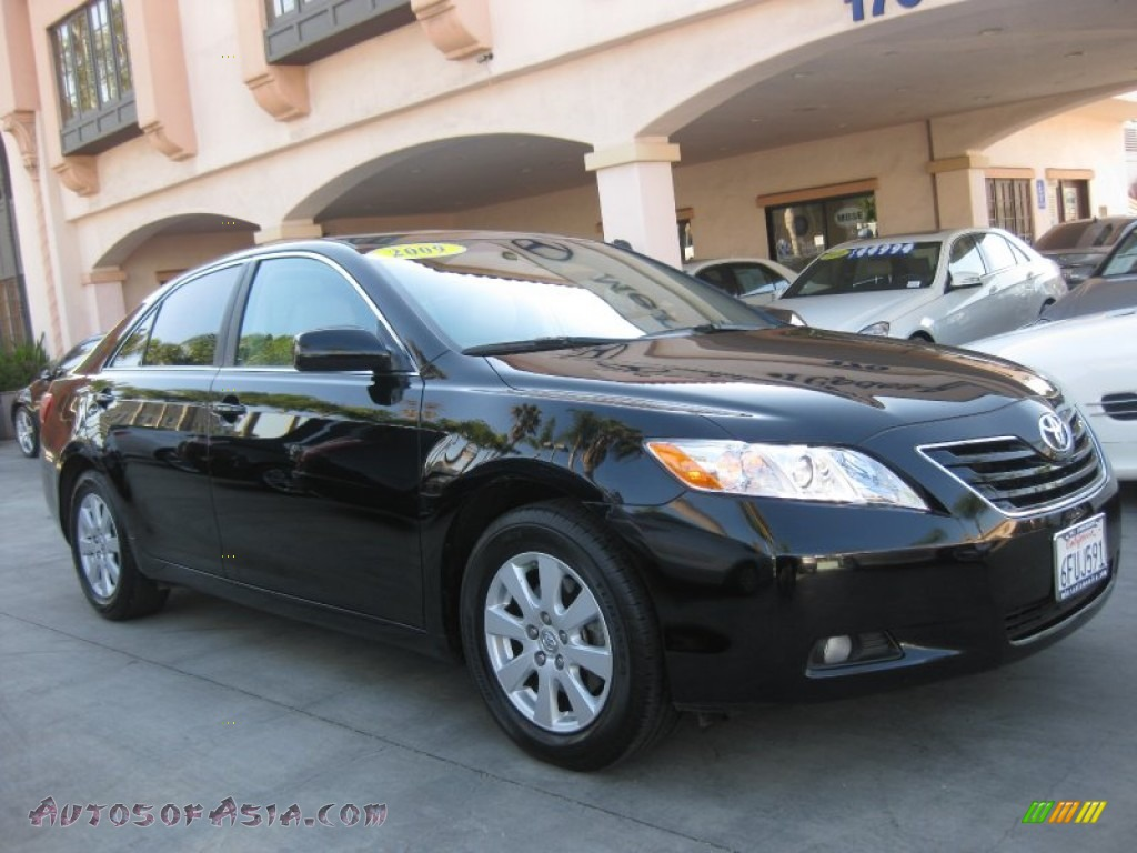 2009 toyota camry xle v6 in black photo 11 594570 autos of asia japanese and korean cars. Black Bedroom Furniture Sets. Home Design Ideas