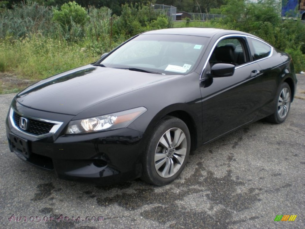 2009 honda accord ex l coupe in crystal black pearl photo. Black Bedroom Furniture Sets. Home Design Ideas