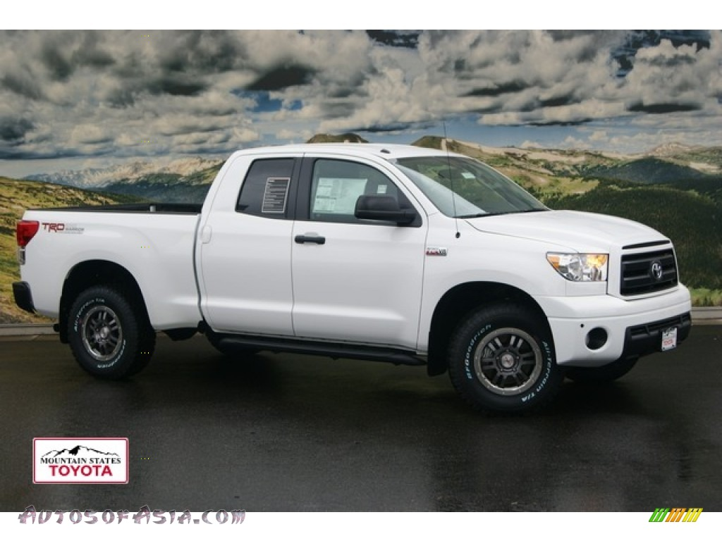 2011 toyota tundra trd rock warrior double cab 4x4 in super white 209568 autos of asia. Black Bedroom Furniture Sets. Home Design Ideas